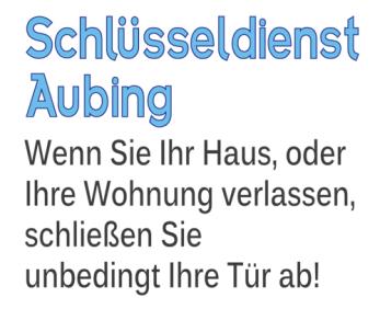 Schlüsseldienst München Aubing