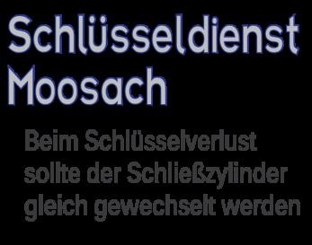 Schlüsselldienst München Moosach